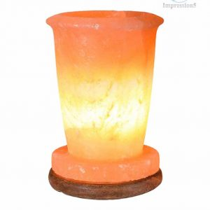 Glass Shape Himalayan Pink Salt Lamp
