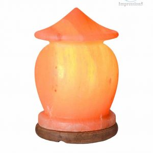 Handmade Hut shaped Himalayan Crystal Salt Lamps.