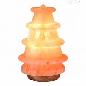 Xmas Tree Shape Himalayan Pink Salt lamp