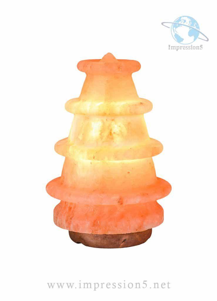 Xmas Tree Shape Himalayan Pink Salt lamp