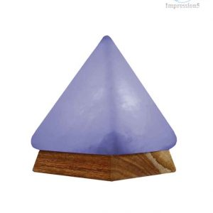 Himalayan Salt Crystal Pyramid Shape Lamp