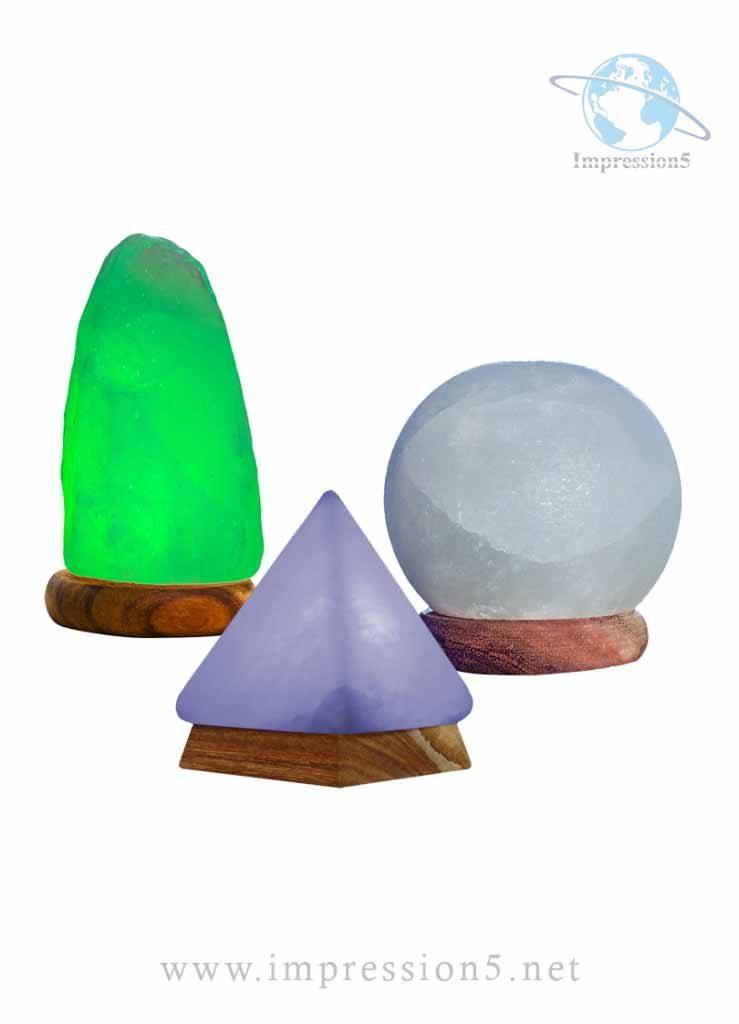 Set of Himalayan Salt USB Lamps